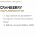 CRANBERRY - CANNERBERGE BIO - SYSTÈME URINAIRE