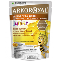 ARKOROYAL - GELÉE ROYALE GOMMES JUNIOR