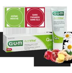 GUM ACTIVITAL Q10 - DENTIFRICE