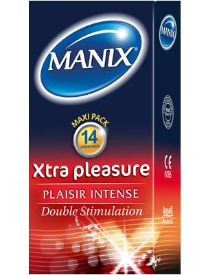 MANIX XTRA PLEASURE - PRESERVATIFS