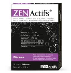 ZENACTIFS - STRESS, ANXIÉTÉ